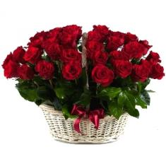"Basket ""31 red rose"""