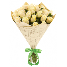 "Bouquet ""25 Cream rose"""