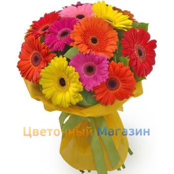 "Bouquet ""Gerbera color 15"""