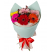 "Bouquet ""7 colored gerbera"""